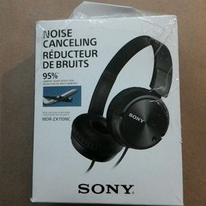 SONY MDR-ZX110NC Noise-Canceling Headset open box